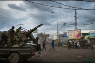 Rebels seize the city of Goma on the eastern border of the Democratic Republic of Congo.