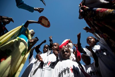 "The UN promoted ""a 16-day campaign against gender violence in Darfur."