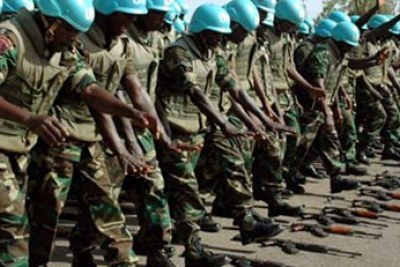 Nigerian peacekeepers