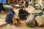 Displaced by conflict in Mali.