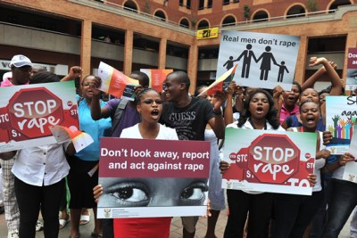 South Africans Campaigning Against Sexual Violence