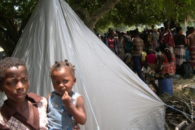 Displaced people (file photo).