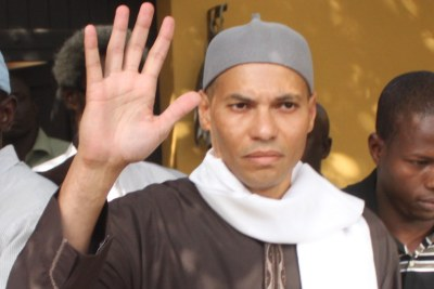 Karim Wade (file photo).
