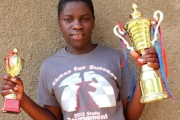 Phiona Mutesi began playing chess because she wanted the free meal the programme offered.