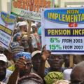Nigeria Union of Pensioners Protest