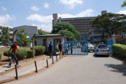 Kenyatta National Hospital (file photo): Health workers involved in the ongoing strike not to receive their pay.