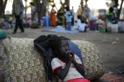 South Sudan displaced (file photo).