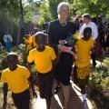 IMF Head Visits Kenya and Mali