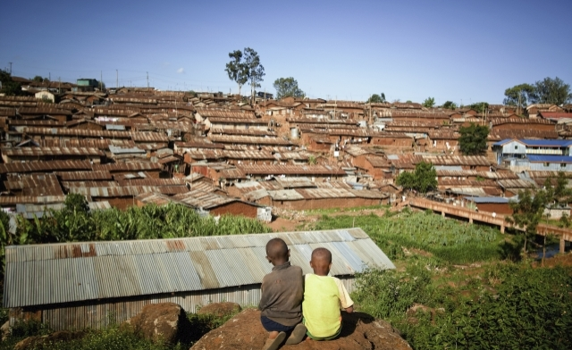 urban development growing slums