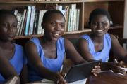 Connect To Learn Scholars from Mansoman Senior High School in Ghana.