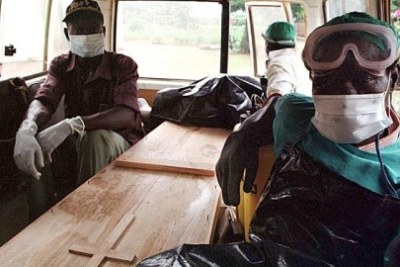 Battling Ebola in Guinea.
