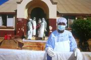 The Red Cross responds to the Ebola outbreak in neighboring Guinea.