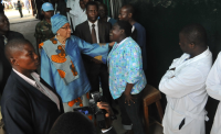 Liberian Politicians Pitch in to Curb Ebola