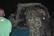 Four police officers were among seven people killed in Witu after gunmen attacked a Lamu-bound bus.