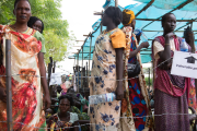 Thousands of South Sudanese civilians are living in camps under the protection of United Nations peacekeepers.