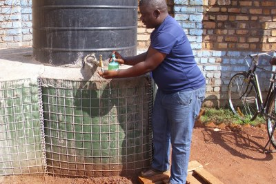 Regular hand washing helps prevent Ebola.