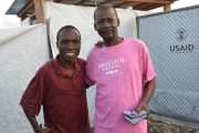 First two survivors of the U.S.-run field hospital for Ebola stricken health workers.