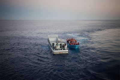 There are now fewer patrol boats searching for migrant ships in the Mediterranean.