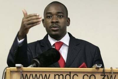 MDC-T's Nelson Chamisa.