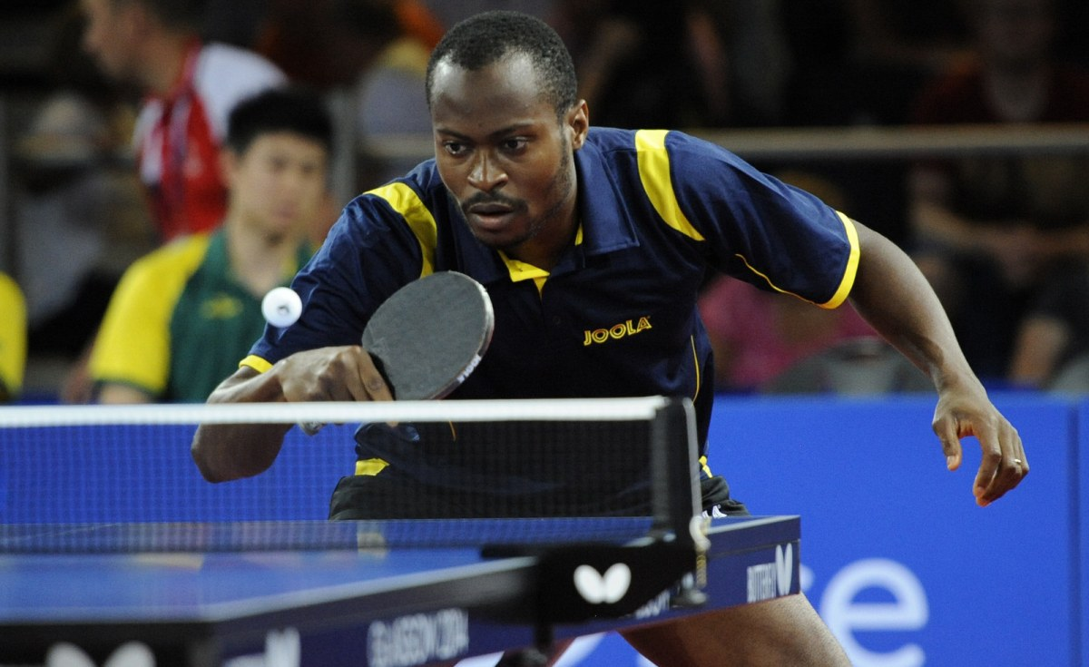 Nigerian named world 39 s table tennis player of the year - African table tennis federation ...