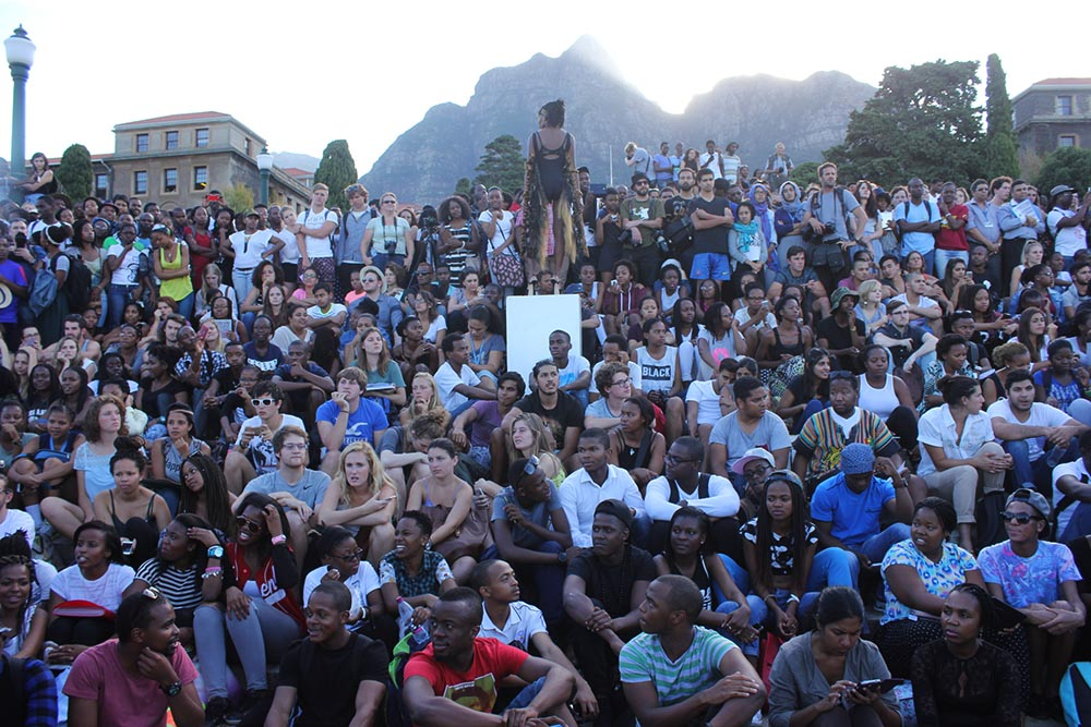 PhotoEssay » South African Students Celebrate Removal of Rhodes ...