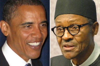 President Barack Obama should visit President Buhari in Abuja or Lagos before he leaves office, says the writer.