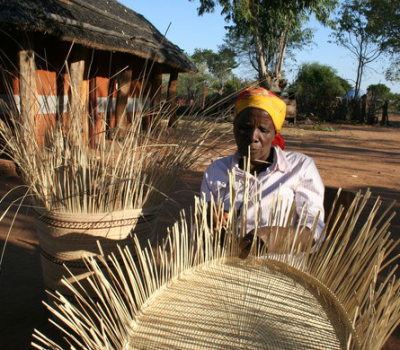 Weaving Creates Opportunity for Zimbabwean Women