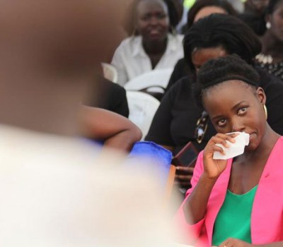 Actress Lupita Weeps Over Insecurity in Kenya