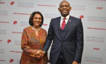 Tony Elumelu Foundation Welcomes 1000 Pan-African Entrepreneurs