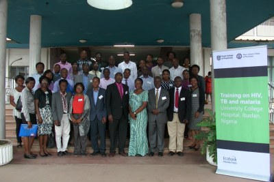 M-PACT Ibadan Programme - Training on HIV, TB and Malaria at the University College Hospital of Ibadan, Nigeria.