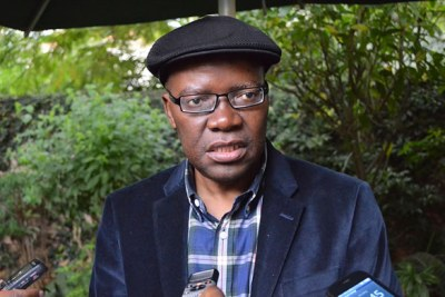 Zimbabwe Former Finance Minister and People's Democratic Party leader Tendai Biti. (file photo)