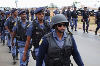 Marching: The three safest provinces were the Free State, Eastern Cape and KwaZulu-Natal. The worst performers were the Western Cape and Limpopo.
