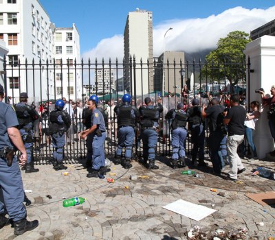 The Day South Africa Students Stormed Parliament