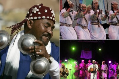 Gnawa is the music of formerly enslaved black Africans who integrated into the Moroccan cultural and social landscape, and founded a model to preserve the traditions and folkloric music of their ancestors.