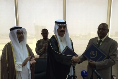 A Loan Agreement was signed in Khartoum today between the Republic of Sudan and Kuwait Fund for Arab Economic Development.