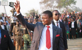 Prophet Bushiri Launches Psb Connect Which Enables Him Walk On AIR