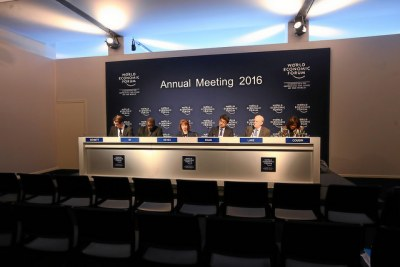 The 2016 World Economic Forum meet in Davos, Switzerland.