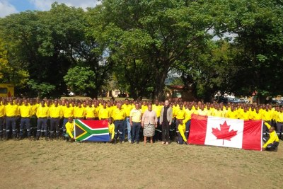 Limpopo firefighters deployed to fight several blazes in Canada.