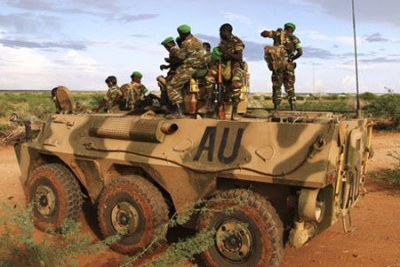 African Union soldiers (file photo).