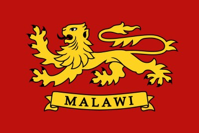 The Flag of the President of the Republic of Malawi.