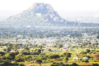 A panoramic view of Dodoma.