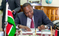 Kenyan President Signs Interest Rates Bill Into Law