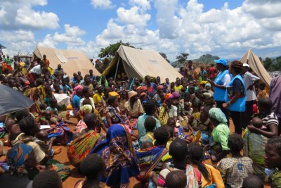 UNHCR relocating Mozambican asylum-seekers in Malawi (file photo).