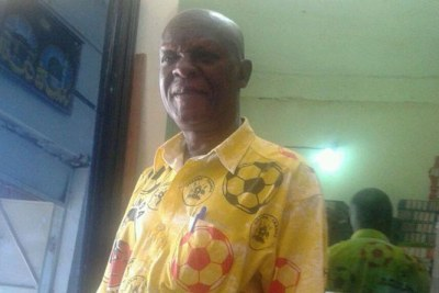 The late Liverpool fan Yusuf Kalange.