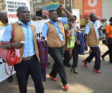 Ugandan Men Stand Up to Violence Against Women