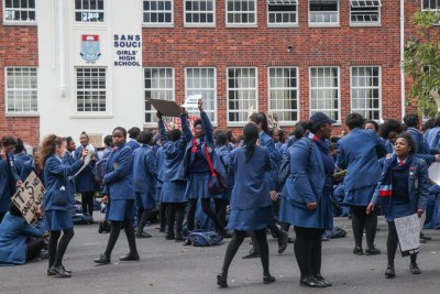 Sans Souci students said the school has racist policies and the former principal treated them poorly (file photo).