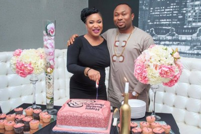 Tonto Dikeh and Oladunni Churchill.