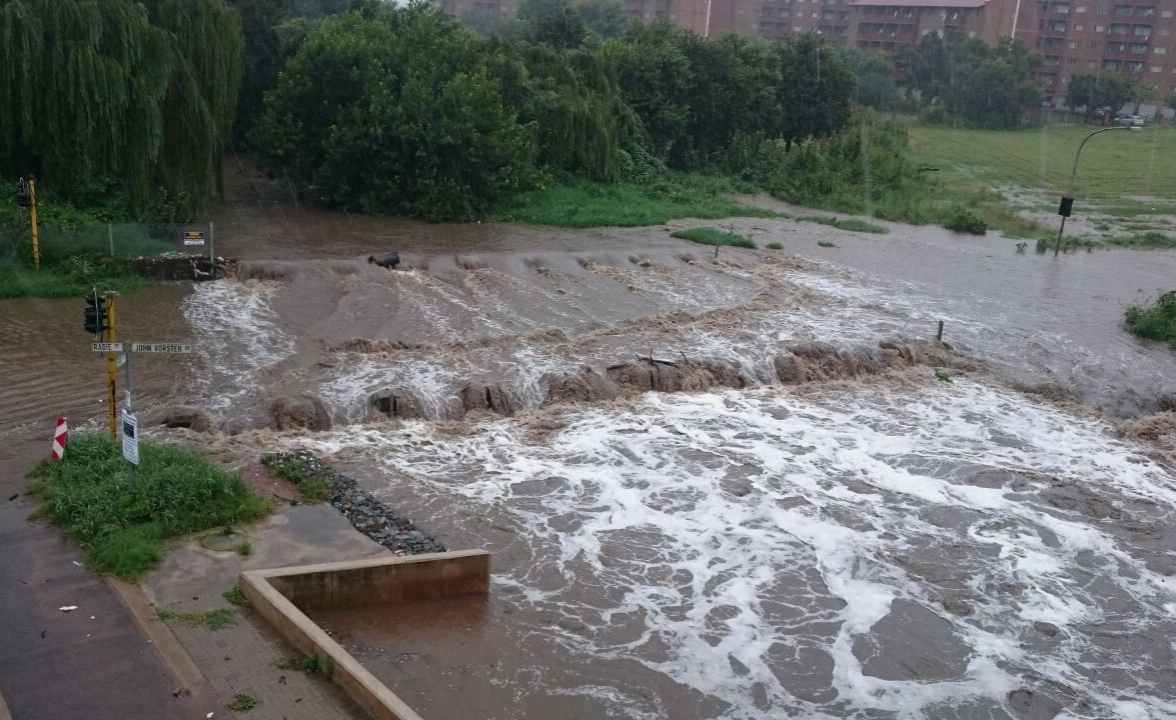 Floods in south africa