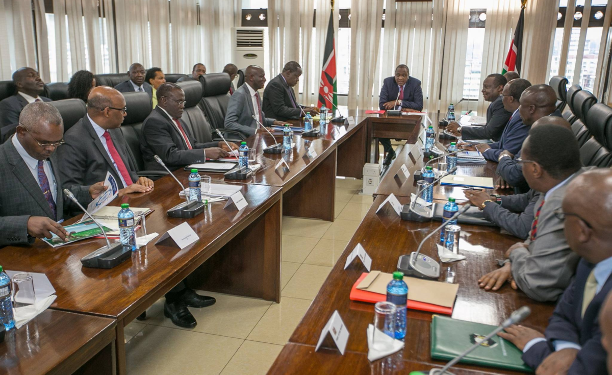 Image result for uhuru all male meeting