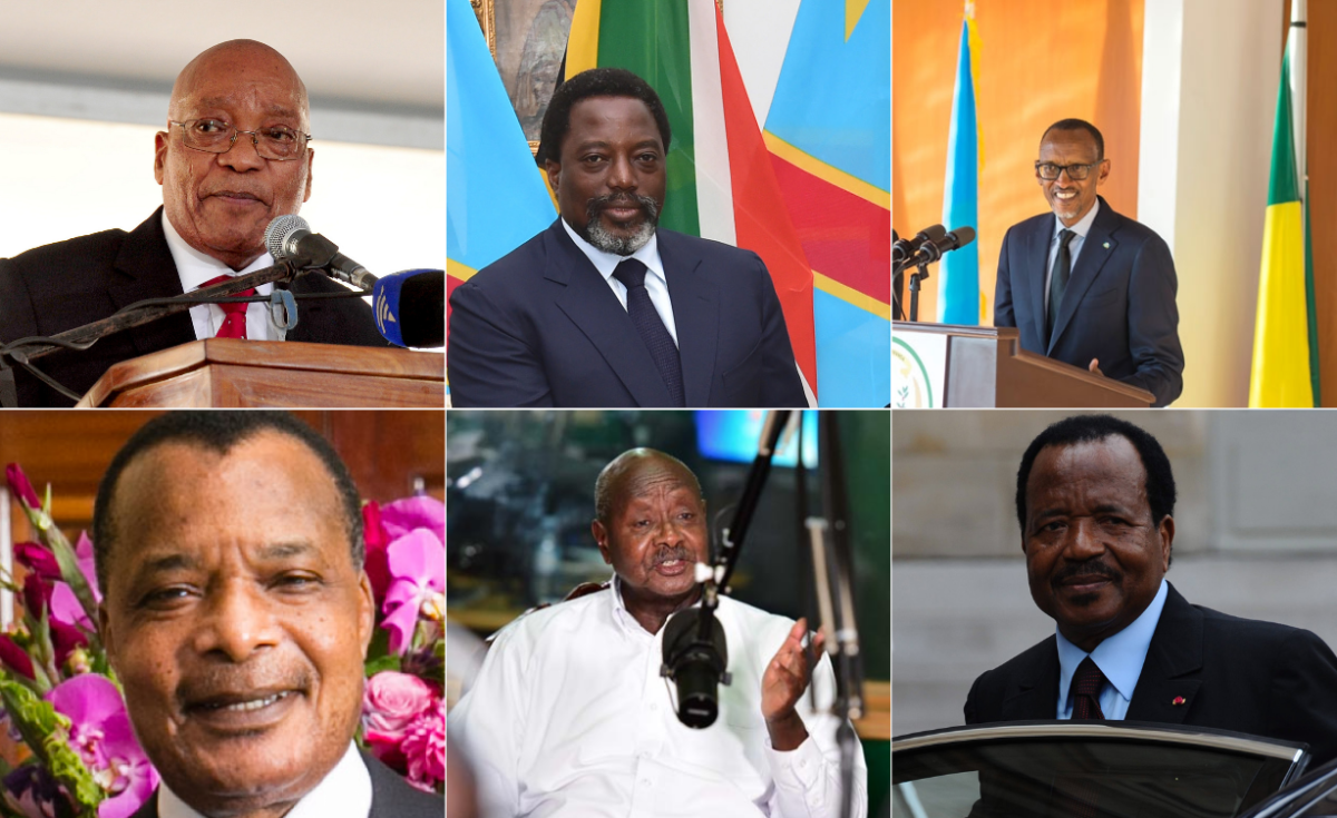 Image result for photos of african presidents who changed constitutions